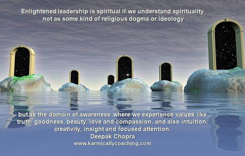 Enlightened leadership and spirituality in business