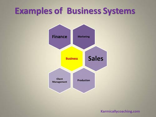 Business systems examples