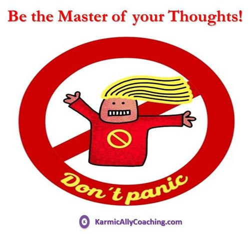 Be the master of your thoughts