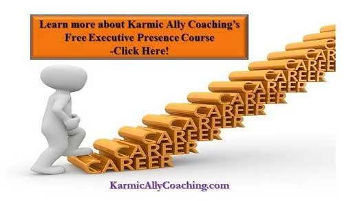 Karmic Ally Coaching Executive Presence Course invitation