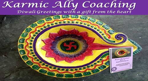 Diwali Gift Karmic Ally Coaching Book of Quotes