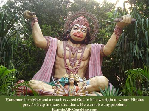 Hanuman the problem solver in Ramayana