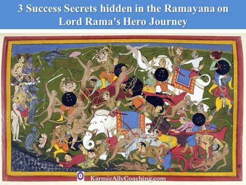 3 success secrets from Ramayana and Lord Rama's Hero Journey
