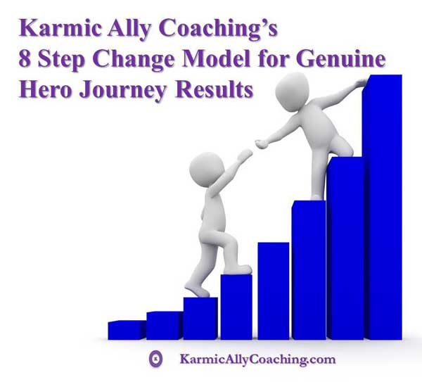 Karmic Ally Coaching 8 Step Change Model