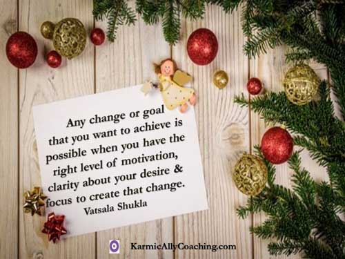 How to achieve change