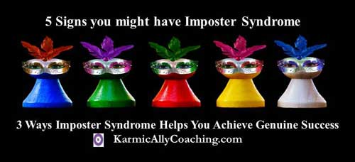 5 signs you might have Imposter yndrome