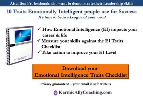 Karmic Ally Coaching 10 Emotional Intelligence Traits