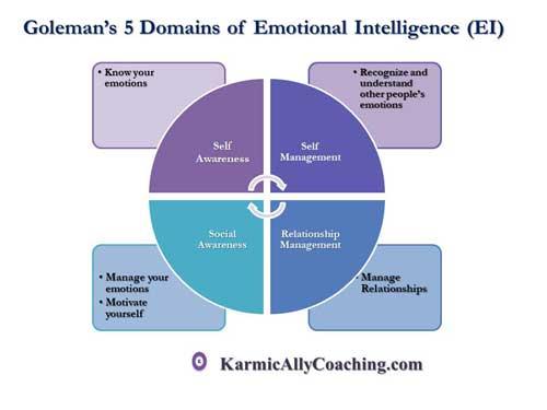 Goleman's 5 Domains of Emotional Intelligence