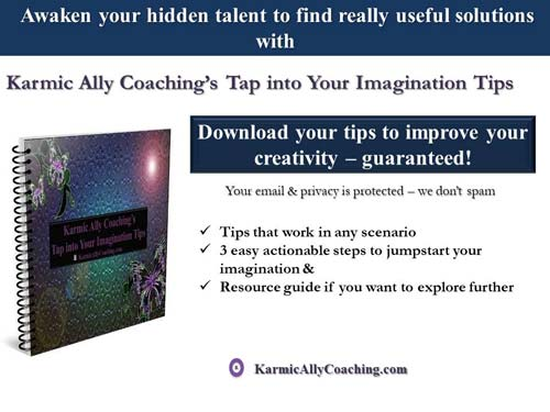 Karmic Ally Coaching's Tap into your Imagination ebook
