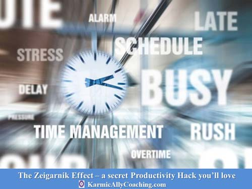 Zeigarnik Effect for Productivity