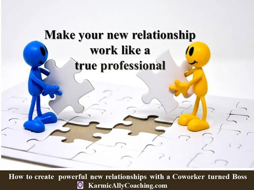Make your new relationship work like a true professional