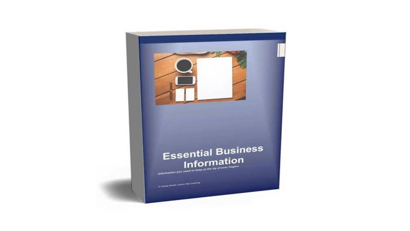 Essential Business Information ebook